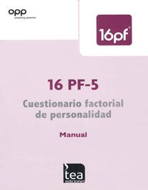 16 PF-5 Cuestionario Factorial de Personalidad image