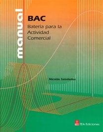 BAC. Batería para la Actividad Comercial image