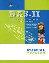 BAS-II. Escalas de Aptitudes Intelectuales image