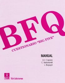 BFQ. Cuestionario «Big Five» image