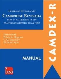 CAMDEX-R. Prueba de Exploración Cambridge Revisada para la Valoración de los Trastornos Mentales en la Vejez image