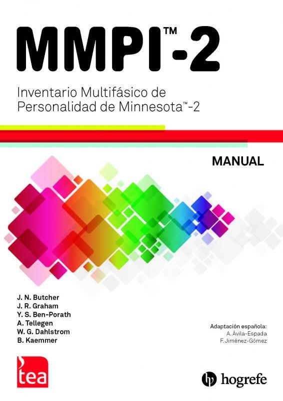 MMPI-2. Inventario Multifasico de Personalidad de Minnesota-2 image