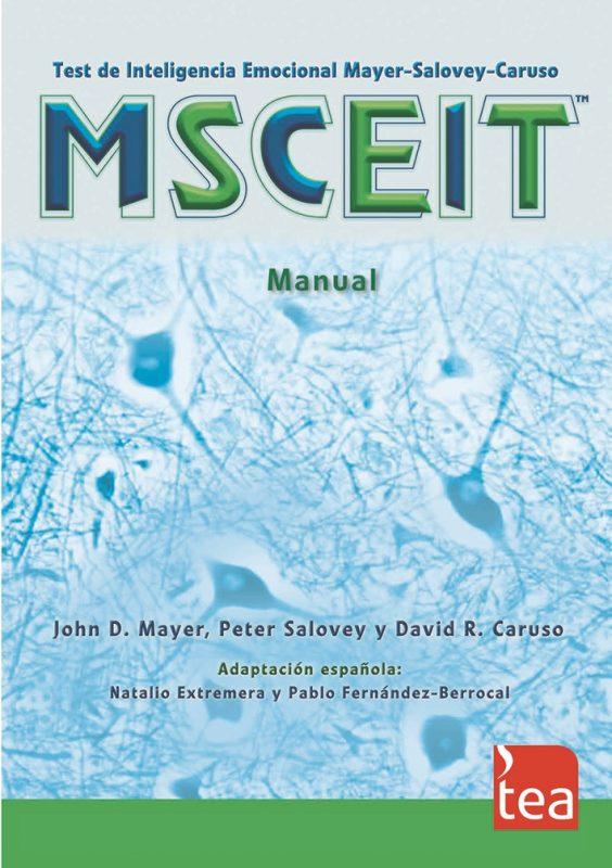 MSCEIT. Test de Inteligencia Emocional Mayer-Salovey-Caruso image