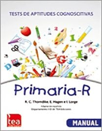PRIMARIA-R. Tests de Aptitudes Cognoscitivas – Revisados image