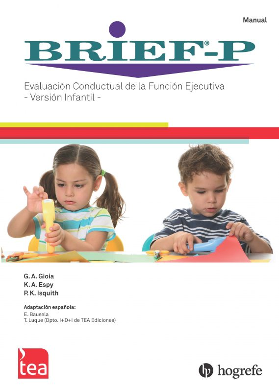 BRIEF®-P. Evaluación Conductual de la Función Ejecutiva – Versión Infantil image