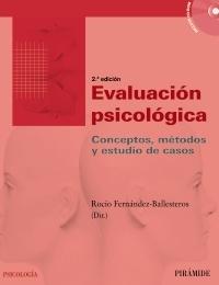 EVALUACIÓN PSICOLÓGICA. CONCEPTO, MÉTODO Y ESTUDIO DE CASOS image