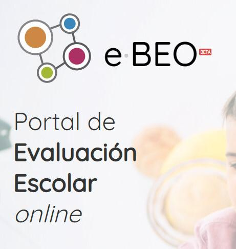 e-BEO. Portal de Evaluación Escolar Online image