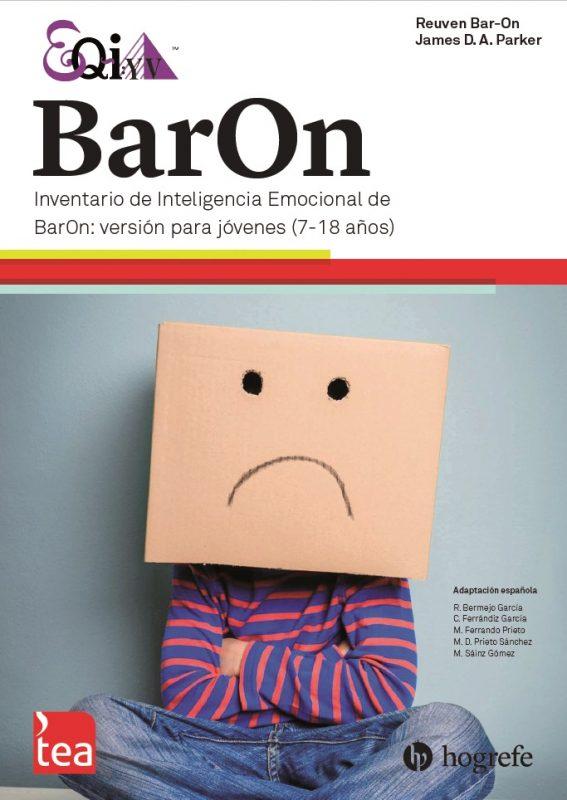 BARON. Inventario de Inteligencia Emocional de BarOn: versión para jóvenes. EQ-i:YV image