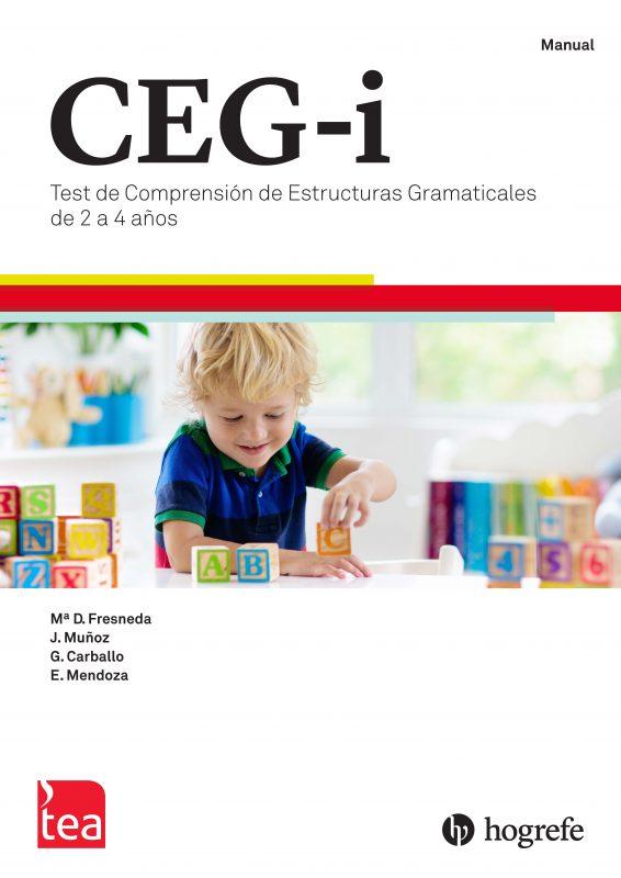 CEG-Infantil. Test de Comprensión de Estructuras Gramaticales de 2 a 4 años image